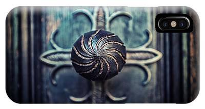 Spiral Knob IPhone Case