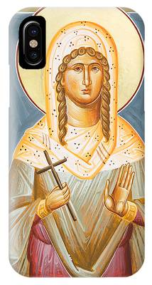 St Julia Icon iPhone Cases