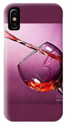 Wine Pouring iPhone Cases