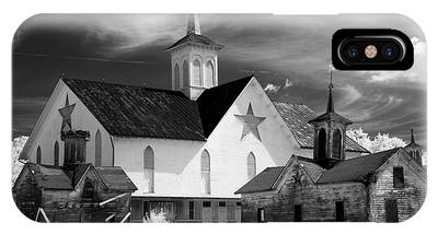 Star Barn Complex In Infrared IPhone Case