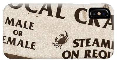 Steamed Crabs - Mike Hope IPhone Case