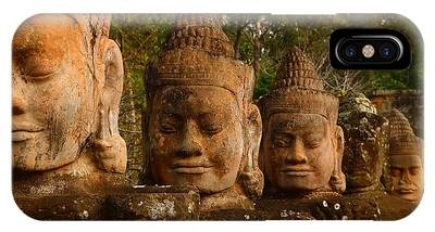 Angkor Thom iPhone Cases