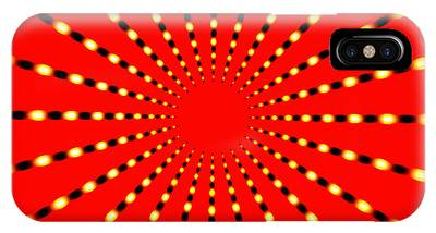 Strange Sun Rays IPhone Case