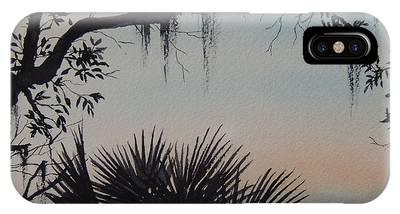 Sunrise At Shellmans Bluff IPhone Case