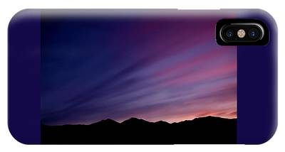 IPhone Case featuring the photograph Sunrise Over The Mountains by Rona Black