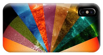 Electromagnetic Spectrum iPhone Cases