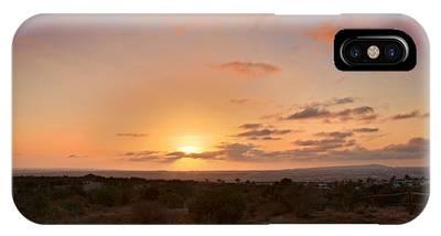 Sunset @ Rim Trail IPhone Case