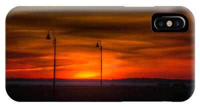 Sunset On The Boardwalk IPhone Case