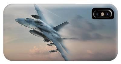 A-18 Hornet Phone Cases