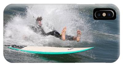 Surfer Wipeout IPhone Case