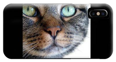 IPhone Case featuring the photograph Sweet Green Eyes by Patricia Strand