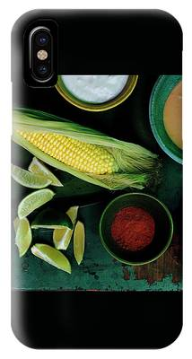 Sweetcorn And Limes IPhone Case