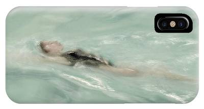 IPhone Case featuring the photograph Swimmer by Patricia Strand