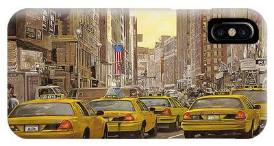 New York City Taxi iPhone Cases