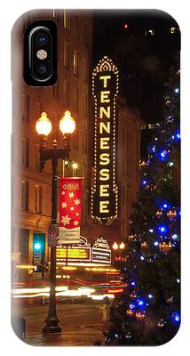Tennessee Christmas IPhone Case