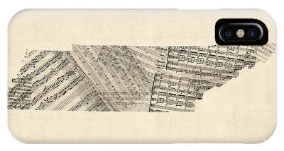 Sheet Music Phone Cases