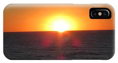 Thanksgiving Sunset IPhone Case