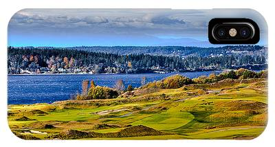 The Amazing Chambers Bay Golf Course - Site Of The 2015 U.s. Open Golf Tournament IPhone Case
