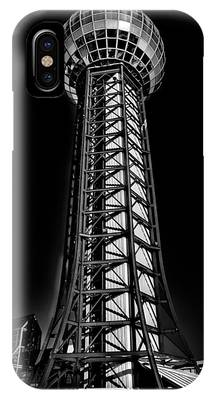 The Amazing Sunsphere - Knoxville Tennessee IPhone Case