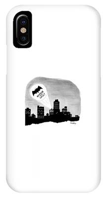 The Bat Signal Says Netflix And Chill? IPhone Case