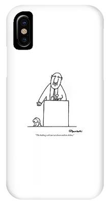 Consumerism Drawings iPhone Cases