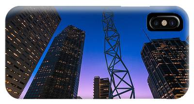 The Challenger Monument - Downtown Miami Phone Case by Dan Vidal