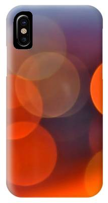 The Edge Of Night IPhone Case by Rona Black