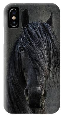 Friesian Horse Phone Cases