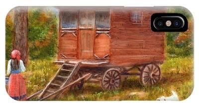 The Gypsy Caravan IPhone Case