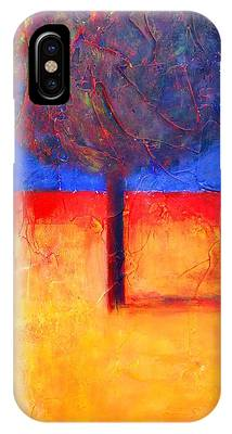 The Lonely Tree In Autumn IPhone Case