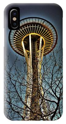 The Seattle Space Needle Iv IPhone Case
