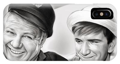 The Skipper And Gilligan IPhone Case