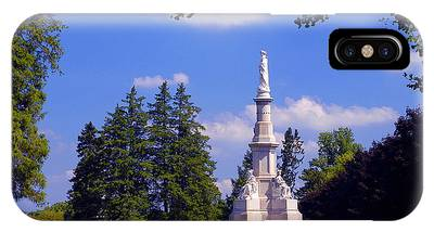 The Soldiers Monument IPhone Case