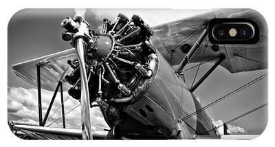 The Stearman Biplane IPhone Case