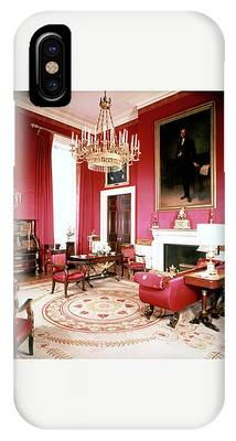 The White House Red Room IPhone Case