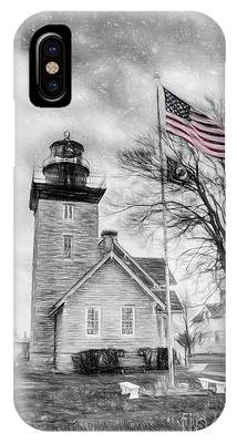 Thirty Mile Point Light IPhone Case