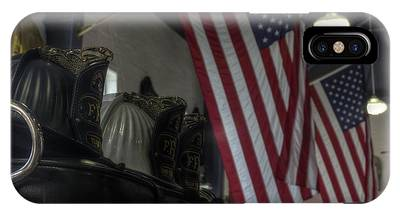 Three Firefighter Helmets IPhone Case