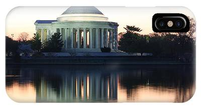 Tidal Basin Sunrise IPhone Case