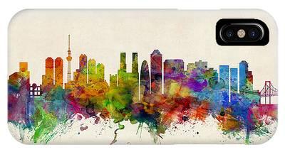 Tokyo Skyline IPhone Cases