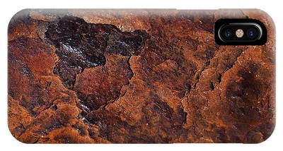 IPhone Case featuring the photograph Topography Of Rust by Rona Black