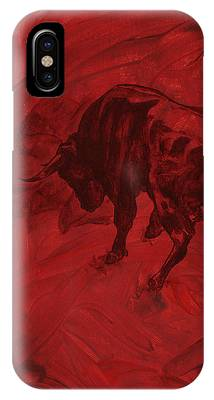 Toro Painting IPhone Case