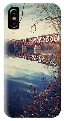 Tracks And Reflections IPhone Case