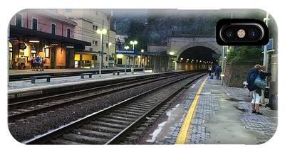 Train Tunnel In Cinque Terre Italy IPhone Case