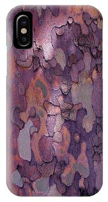 IPhone Case featuring the photograph Tree Abstract by Rona Black