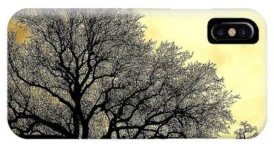 IPhone Case featuring the photograph Tree Silhouette by Richard J Thompson