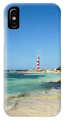 Tropical Seascape With Lighthouse IPhone Case