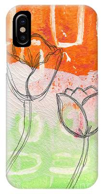 Abstract Flower Phone Cases