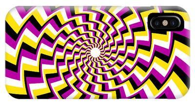 Twisting Spiral IPhone Case