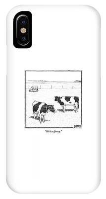 Cow iPhone X / XS Cases
