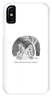 Two Bedraggled Men IPhone Case